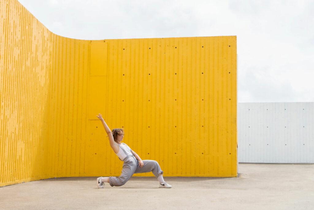 Dancer Maéva Cochin